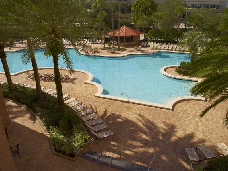 Rosen Centre Hotel Pool View
