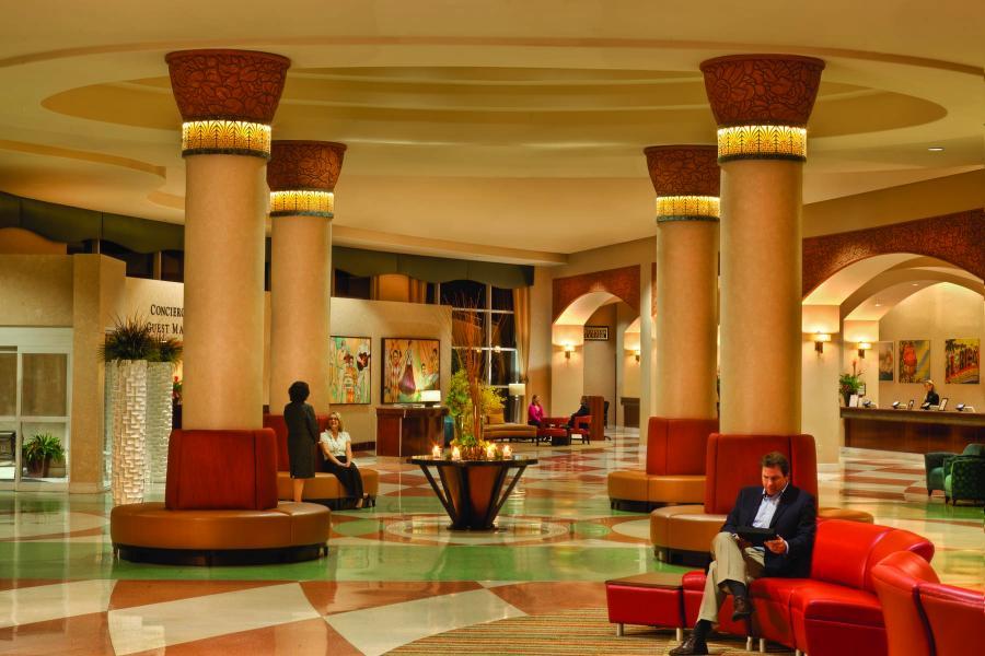 Lobby Rosen Centre hotel